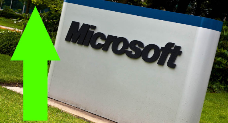 Microsoft Share hits highest post dot-com bubble price